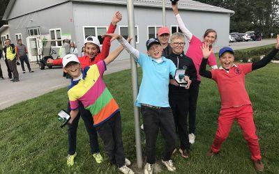 Pia in Jaka Babnik državna prvaka v golfu, Žiga Babnik srebrn.