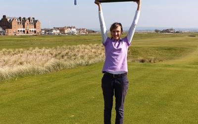 Velika zmaga Pie Babnik na MP Škotske v golfu