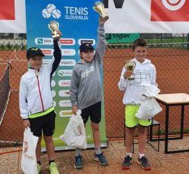 Uspeh mladega tenisača