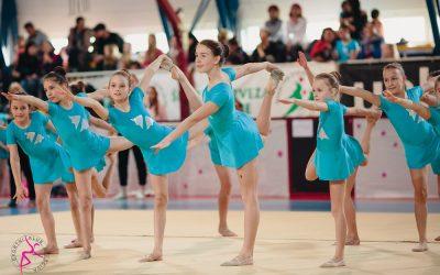 Dosežki učenk na tekmovanju v estetski gimnastiki