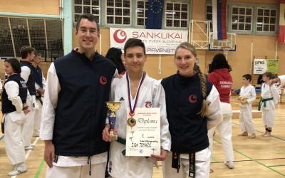 Imamo državnega prvaka v karateju